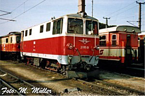 Die ÖBB lehnten aber ab, da die Projektlokomotive den gewünschten  Erfordernissen nicht entsprach, man wollte auch für den schweren  Güterzugdienst eine ...